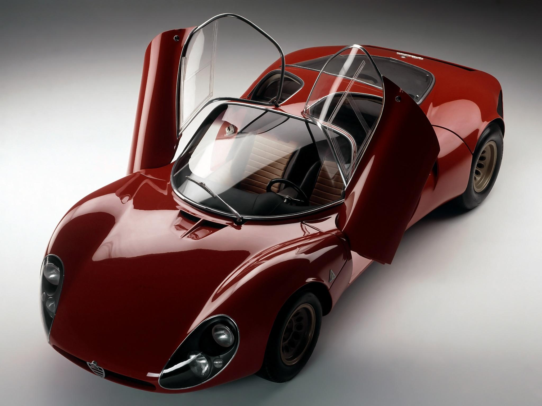 Alfa Romeo Tipo 33 Stradale 1967 Old Concept Cars