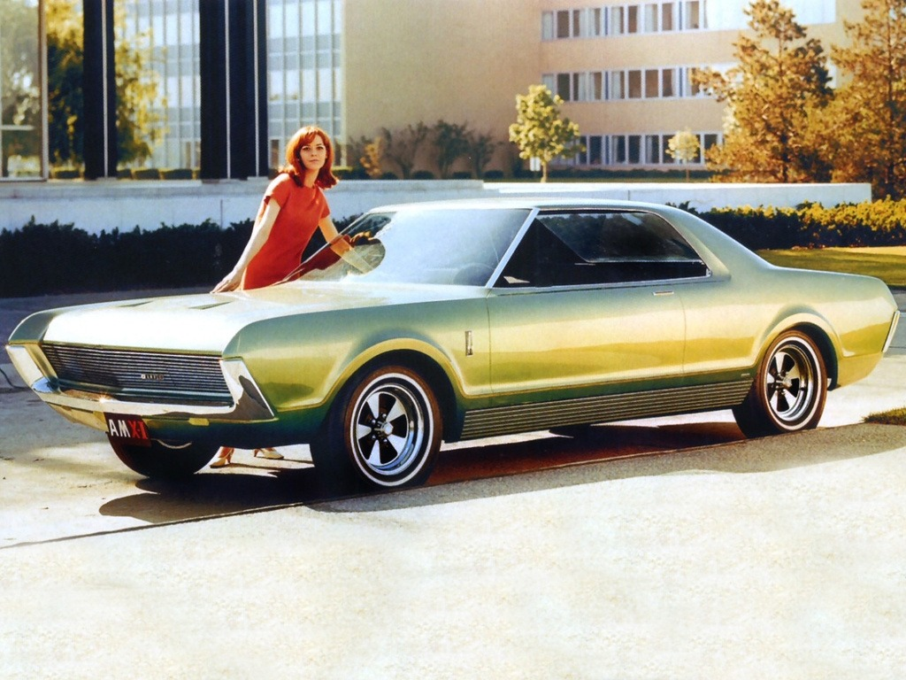 AMC AMX II Project IV Concept Car (1966)
