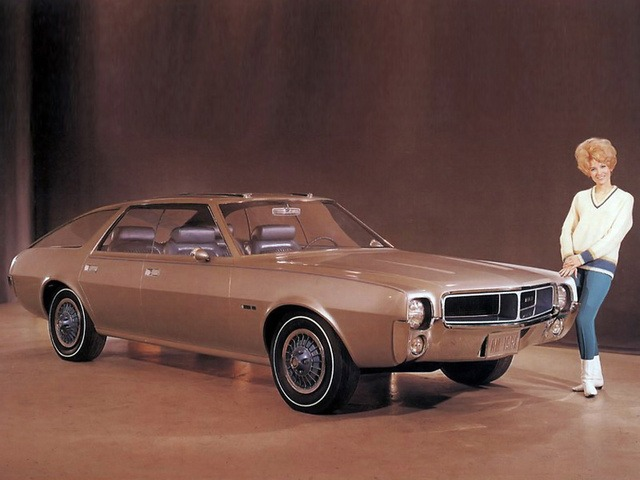 AMC AMX III Concept Car (1967)