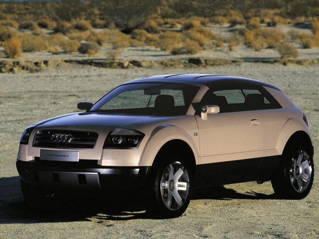 audi steppenwolf concept 2000 old concept cars