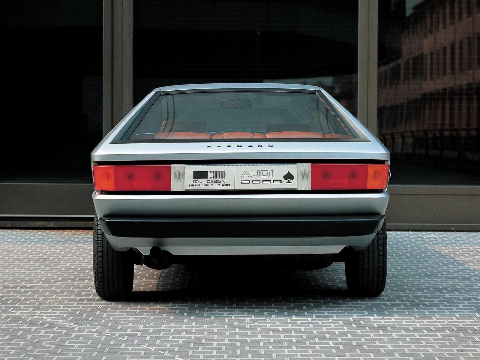 Top 10 Fastest Cars >> Audi Asso di Picche Concept (1973) - Old Concept Cars
