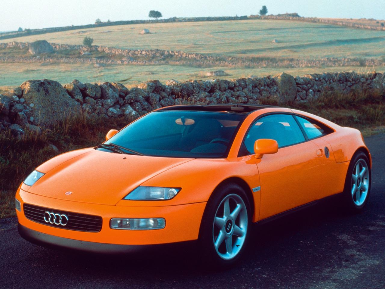 Audi Quattro Spyder Concept (1991) - Old Concept Cars