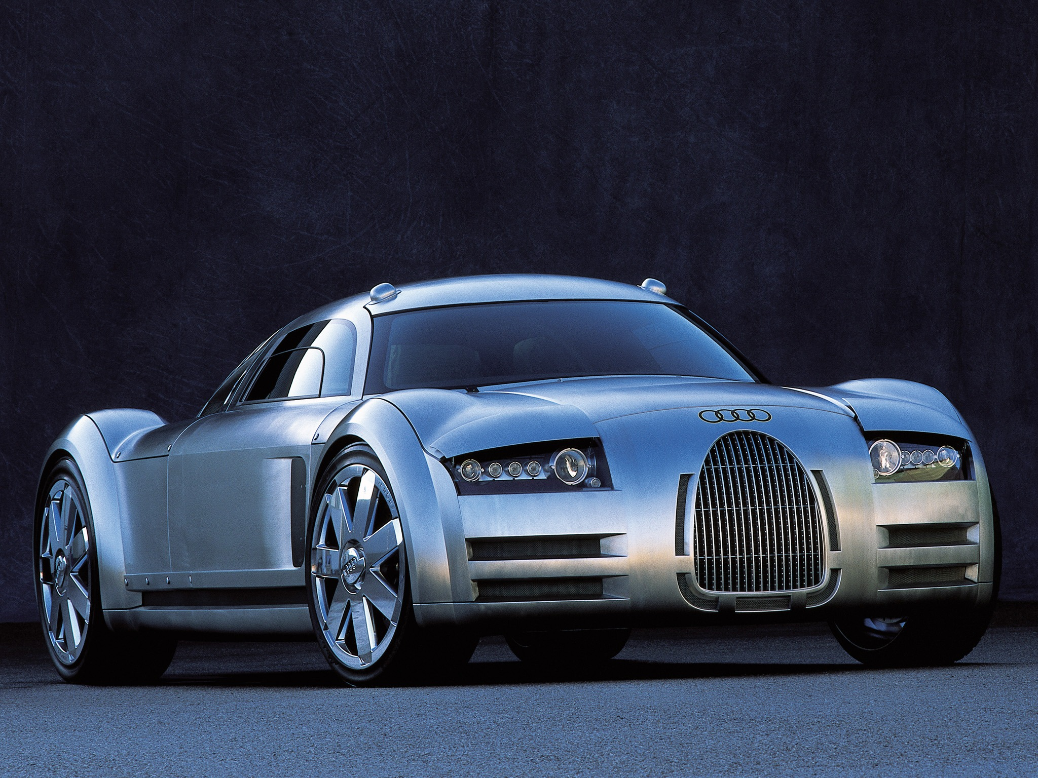 Audi Rosemeyer Concept 2000 Old Concept Cars