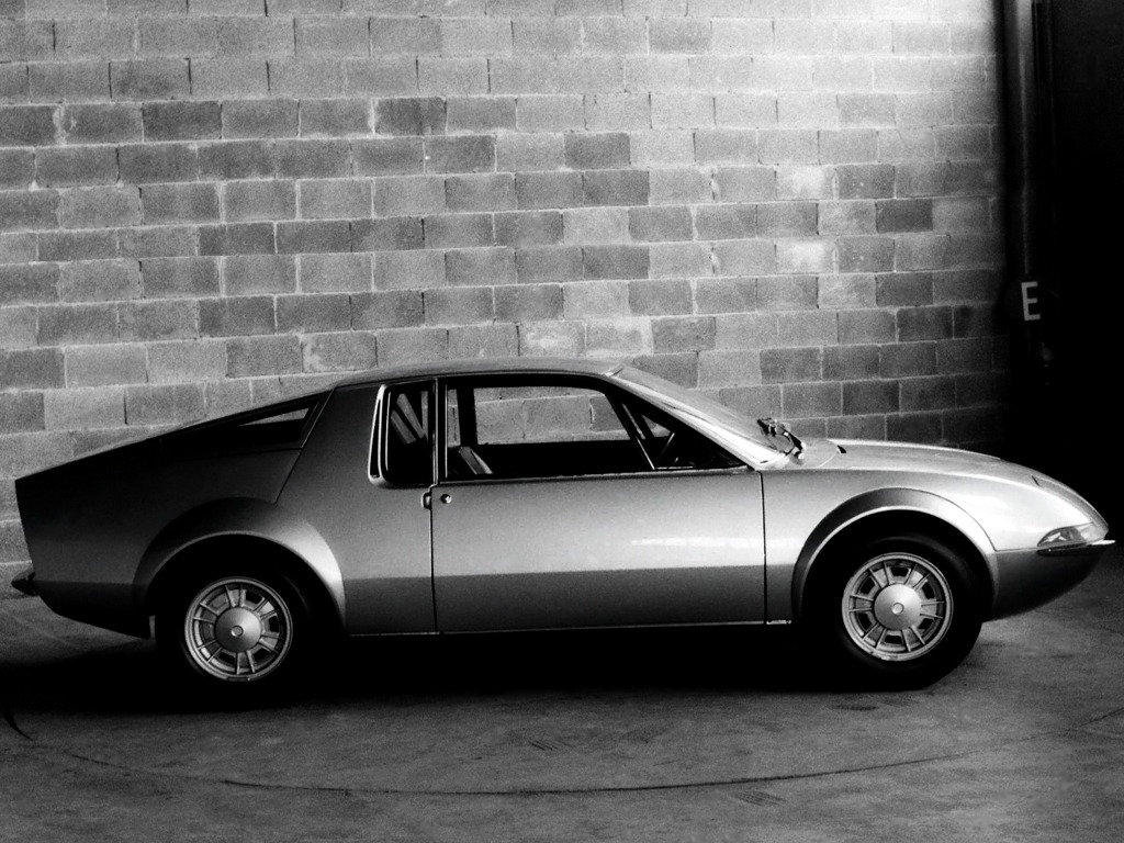 Autobianchi G.31 Coupe Concept by OSI (1968)
