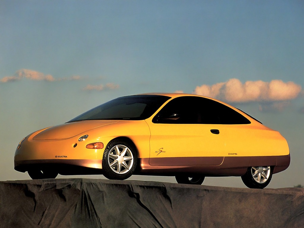 AZD Solectria Sunrise EV Prototype (1994)