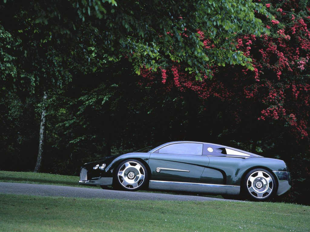 Bentley Hunaudieres 1999 Old Concept Cars