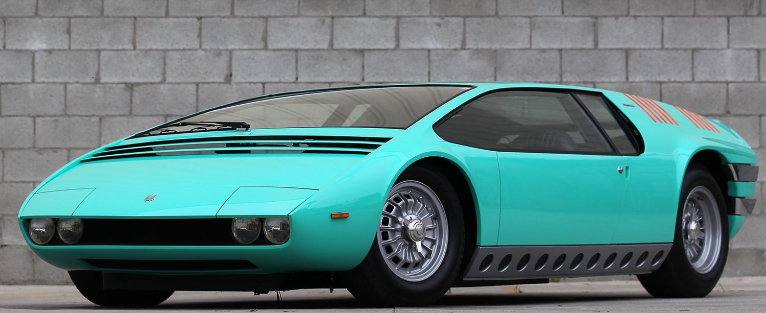 Bizzarrini Manta (1968) - Old Concept Cars