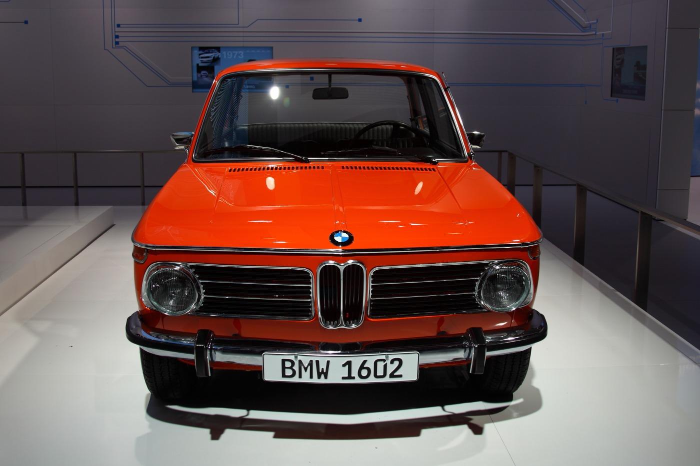 Bmw 1602 Electro Antrieb E10 1972 Old Concept Cars