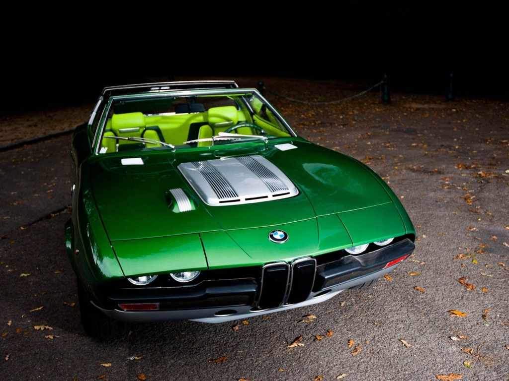 Bmw 2800 Spicup 1969 Old Concept Cars