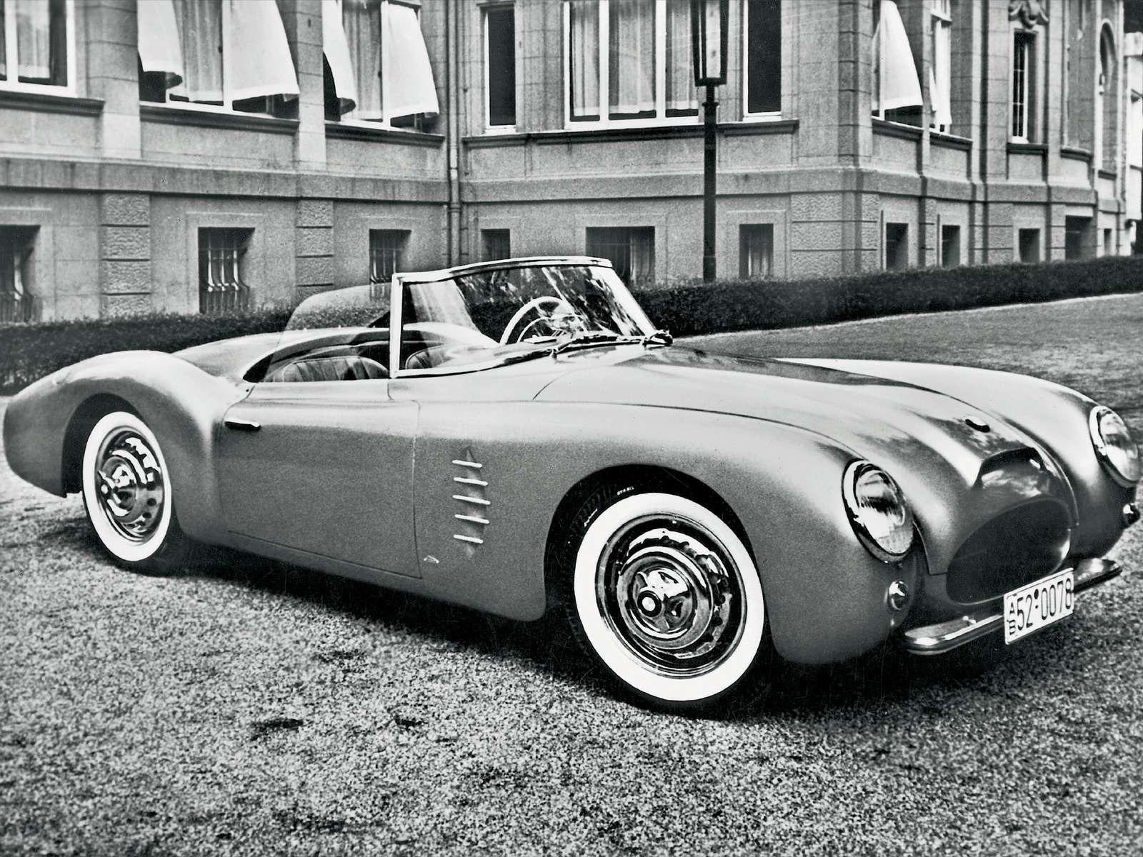 BMW 528/502 Sportwagen (1954) – Old Concept Cars