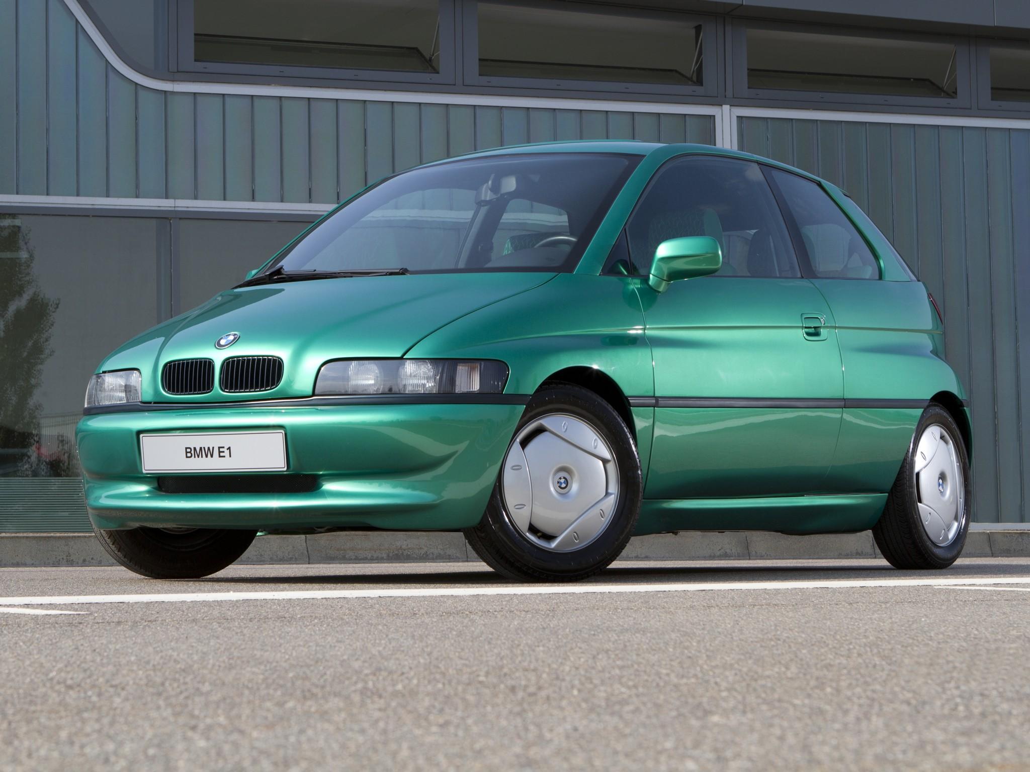 Bmw Z15 E1 1993 Old Concept Cars