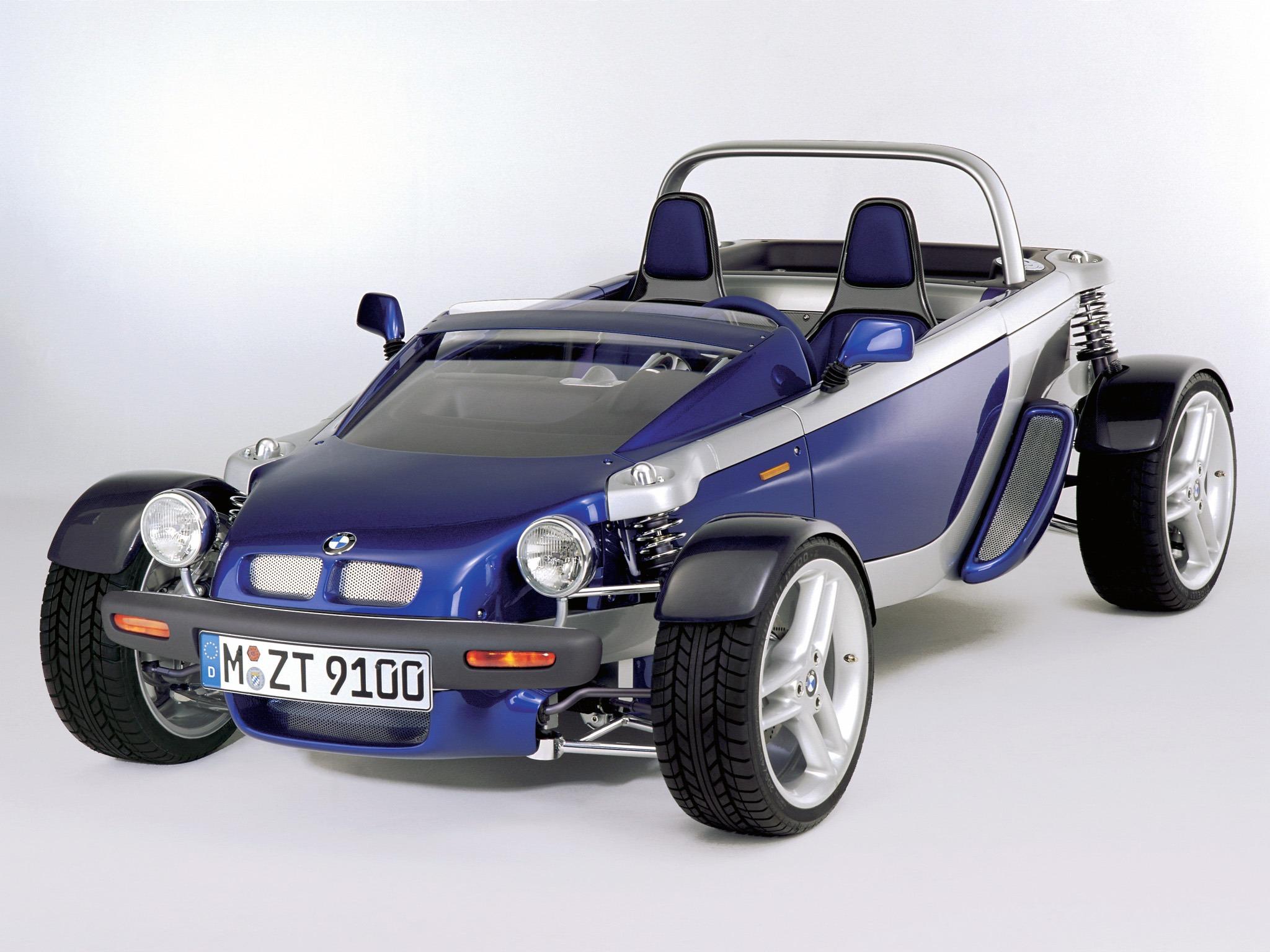 Bmw Z21 Quot Just 4 2 Quot 1995 Old Concept Cars