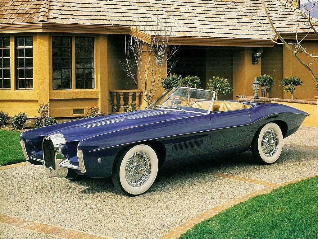 Bugatti Old Concept Cars