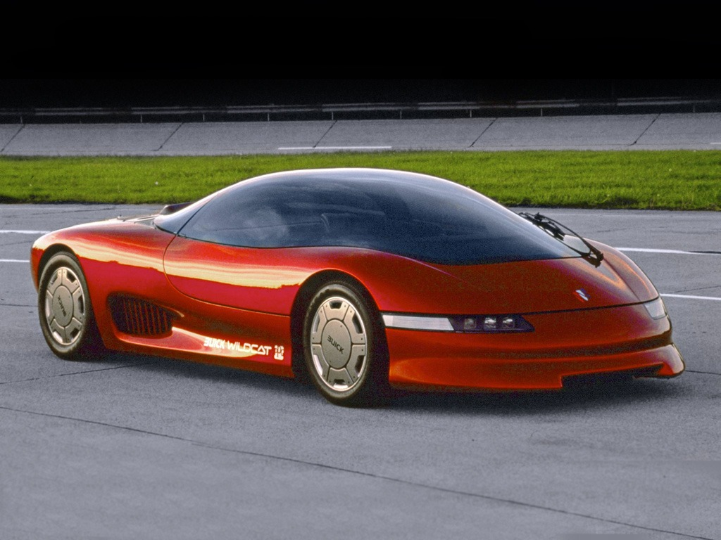 Buick wildcat concept car