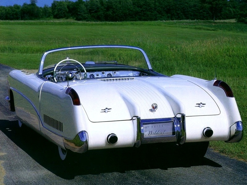 Buick Wildcat I 1953 Old Concept Cars