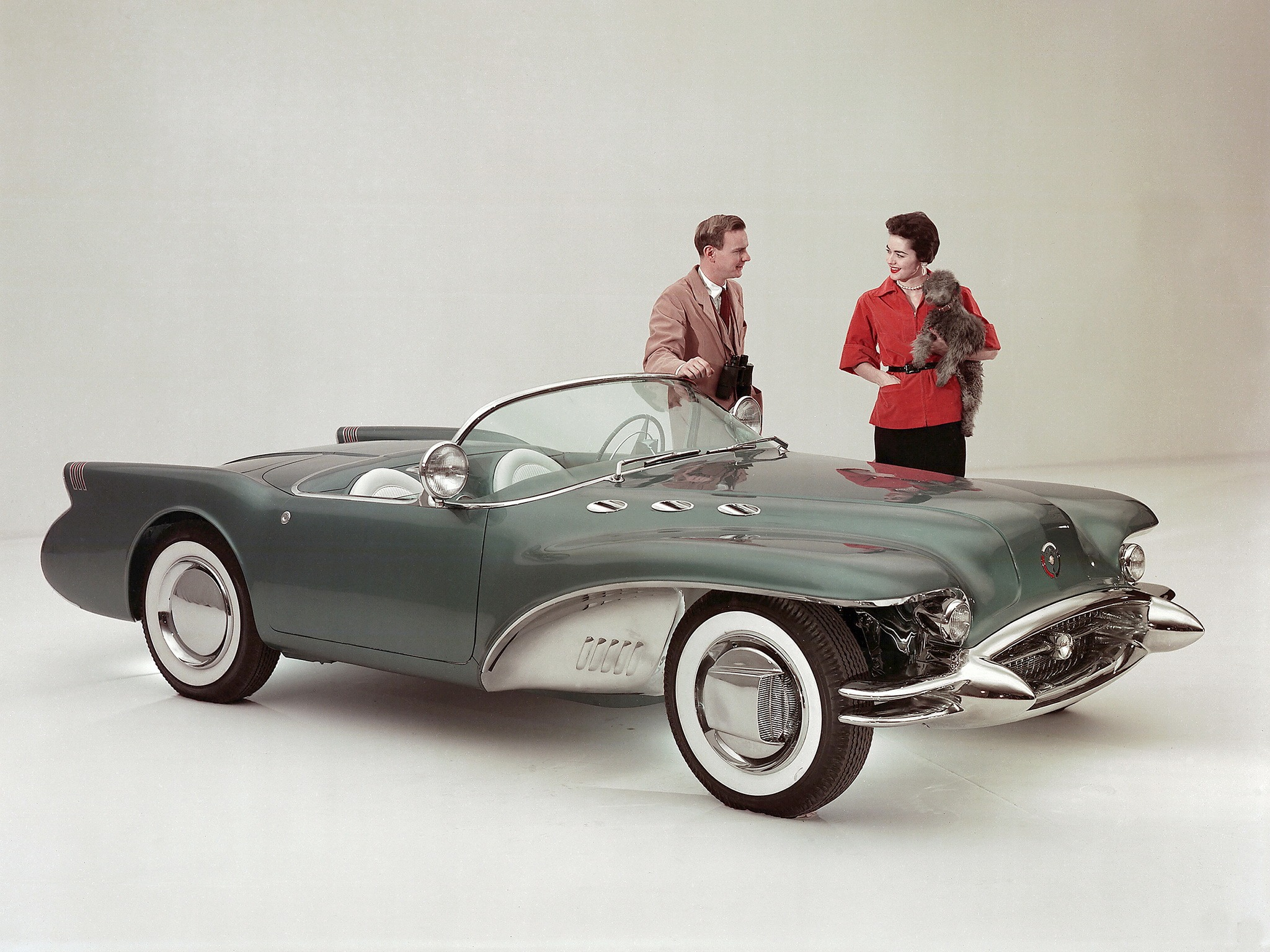 Buick Wildcat Ii 1954 Old Concept Cars