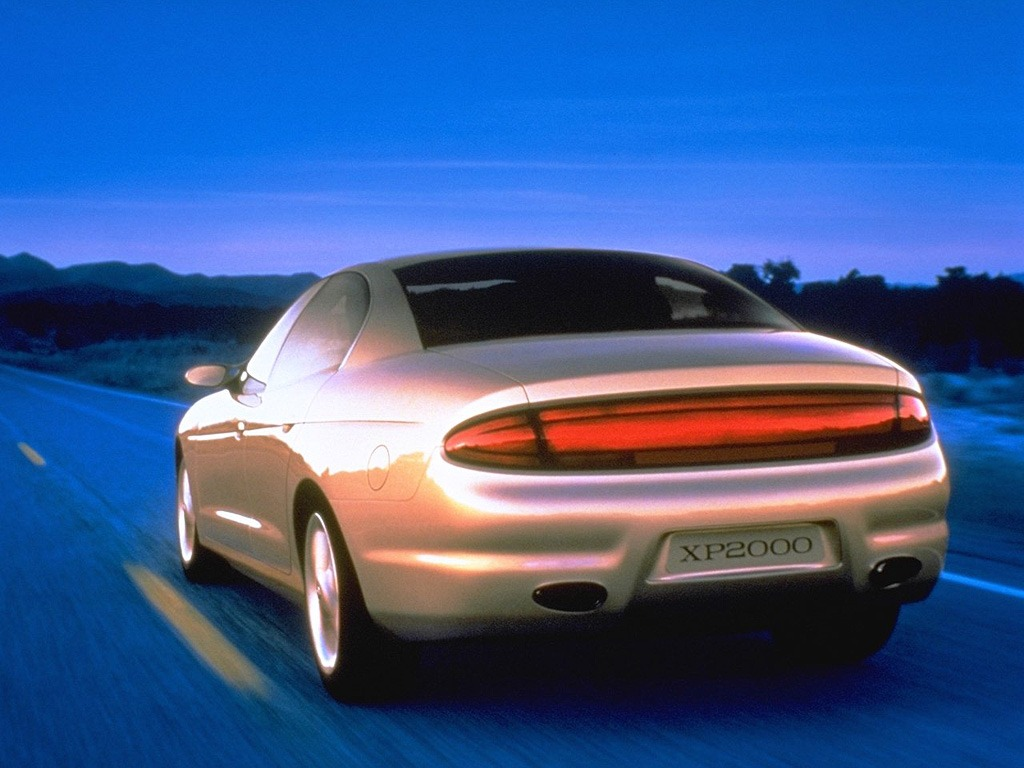 7 Passenger Vehicles >> Buick XP2000 (1995) - Old Concept Cars