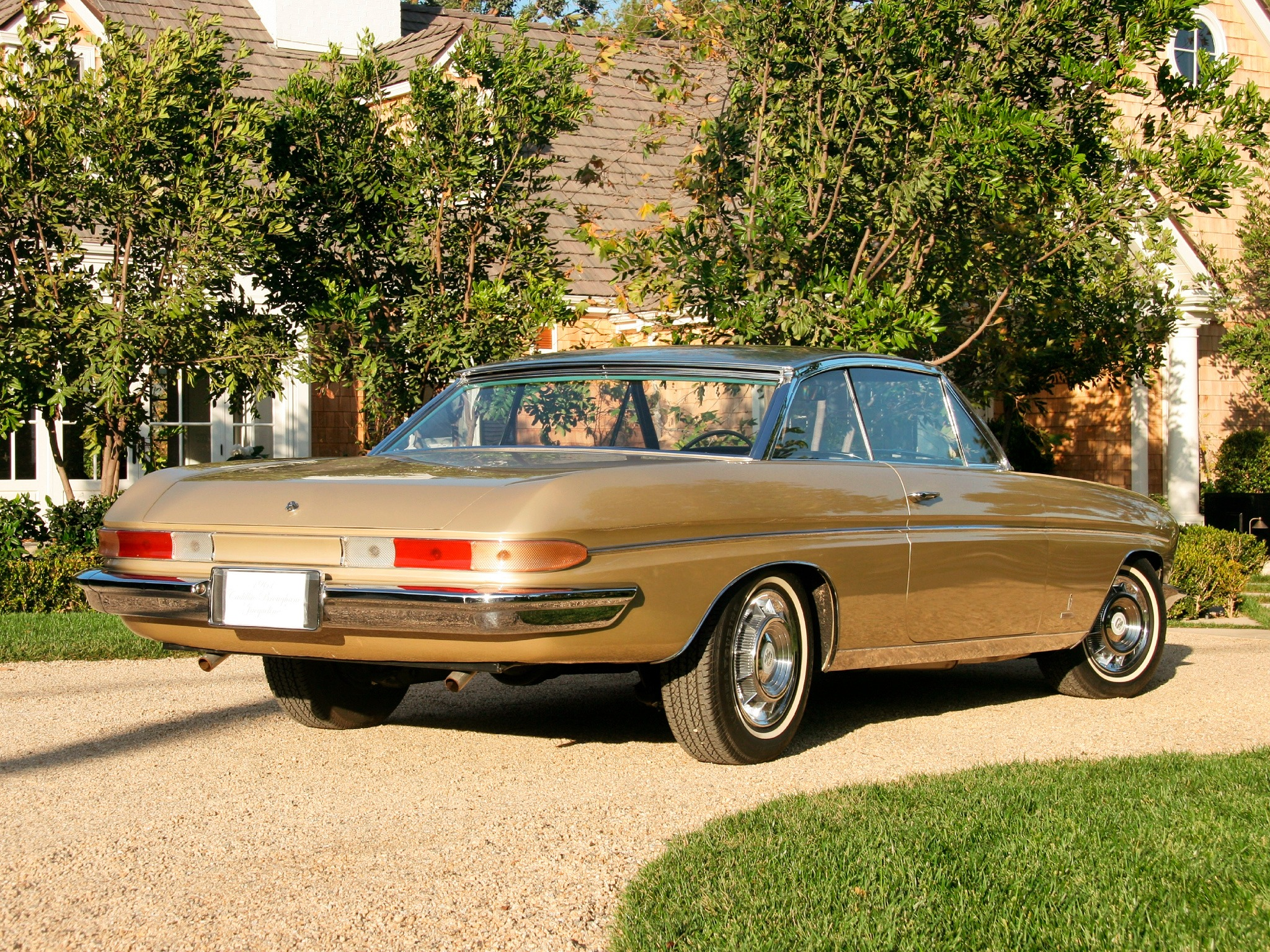 Cadillac Dealer Near Me >> Cadillac Jacqueline Brougham Coupe (1961) - Old Concept Cars