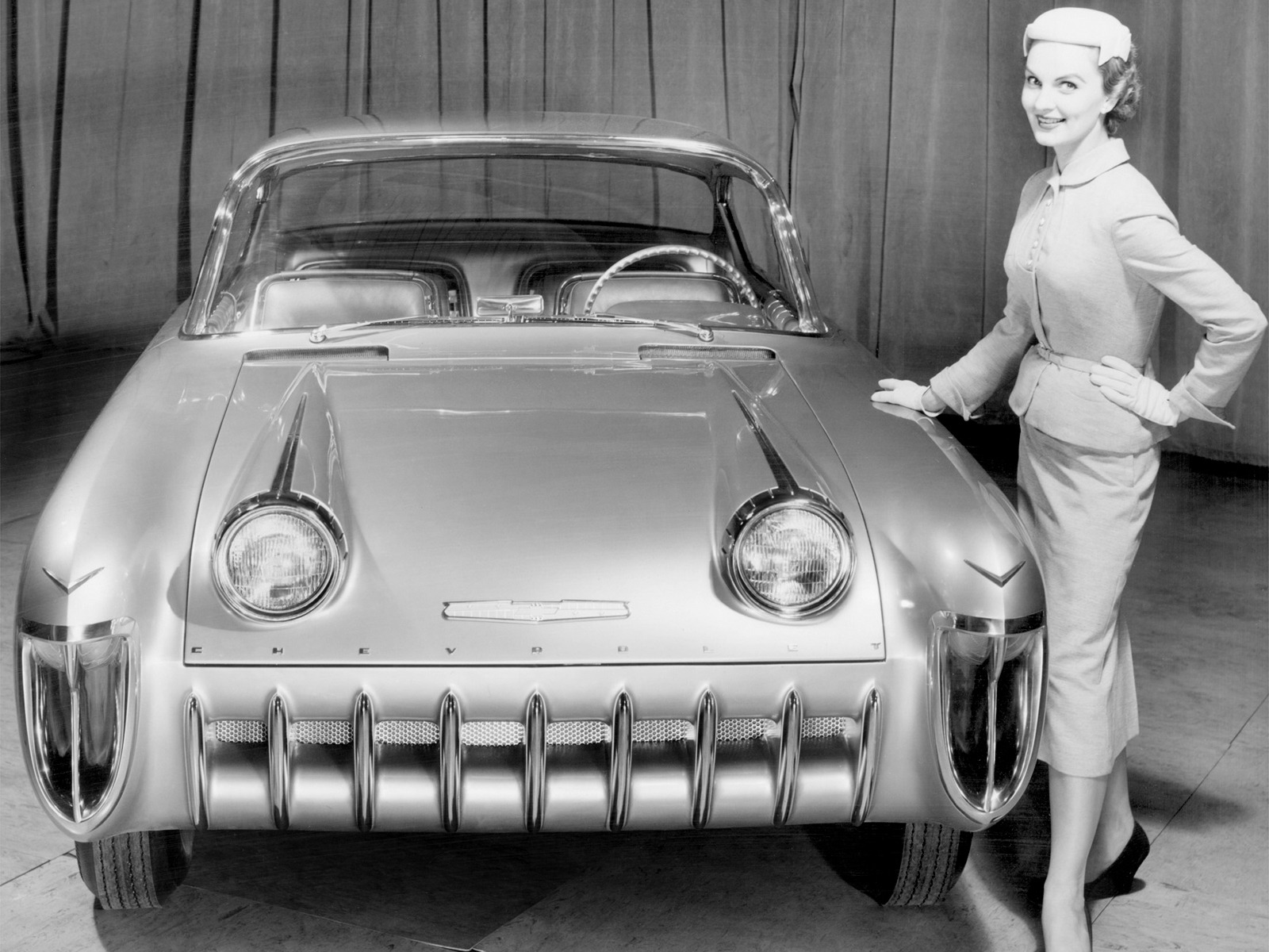 Chevrolet Biscayne Concept Car 1955 Old Concept Cars