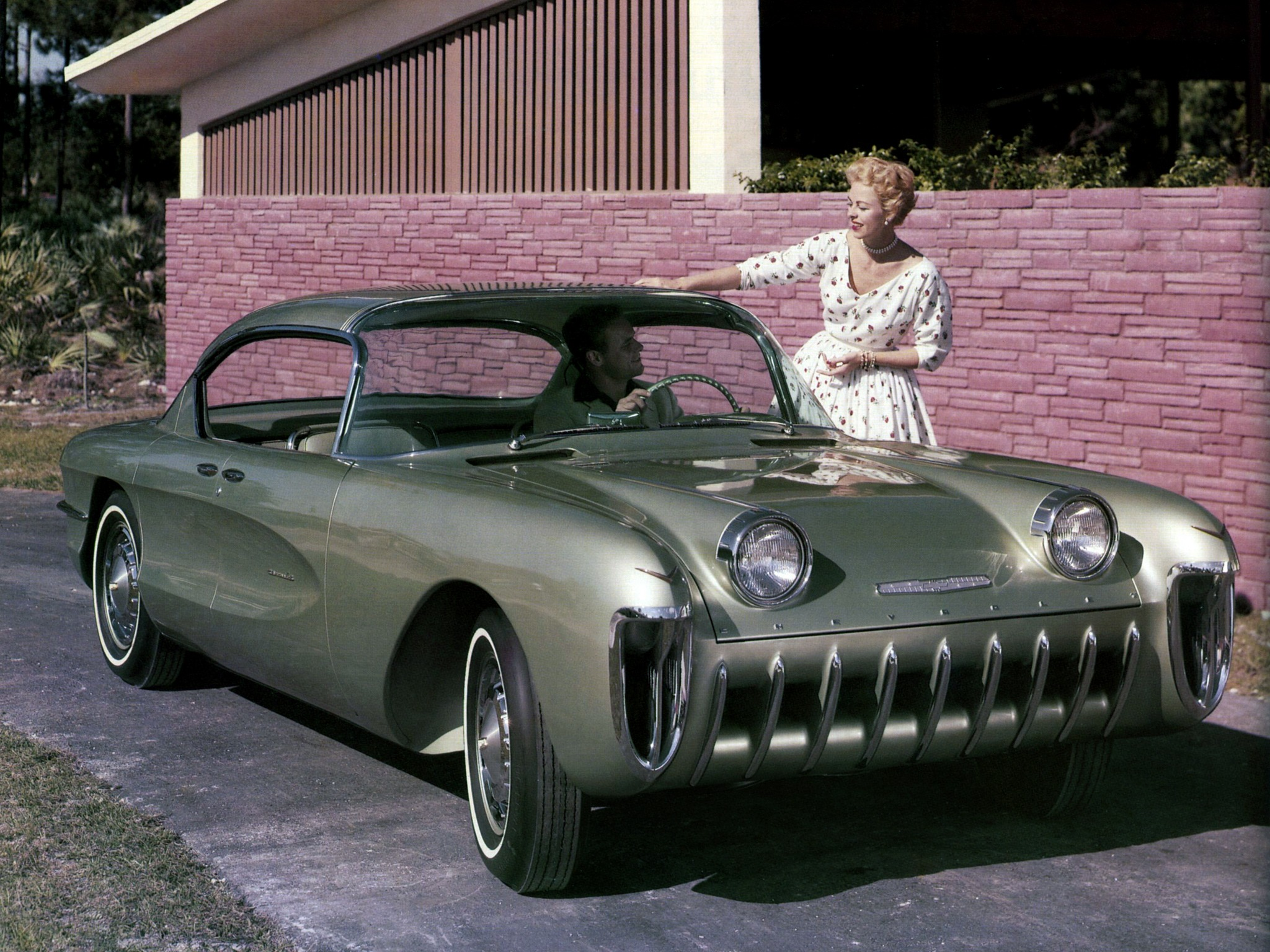 Used Autos Near Me >> Chevrolet Biscayne Concept Car (1955) - Old Concept Cars