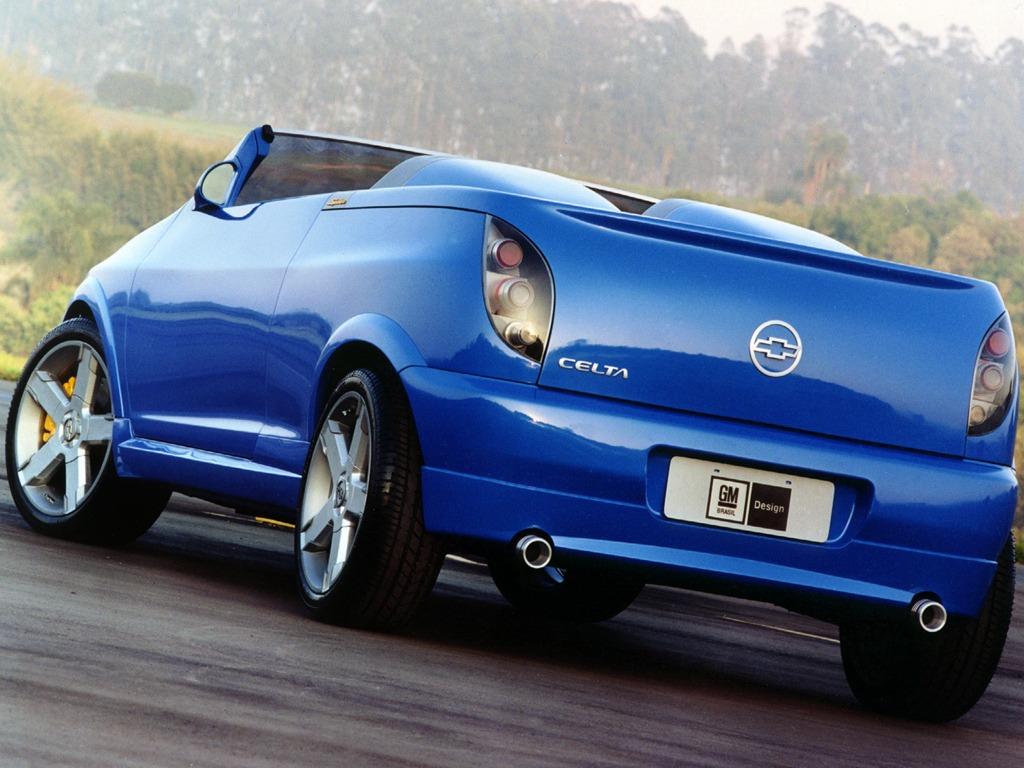 Chevrolet Celta Spider Concept 2000 Old Concept Cars