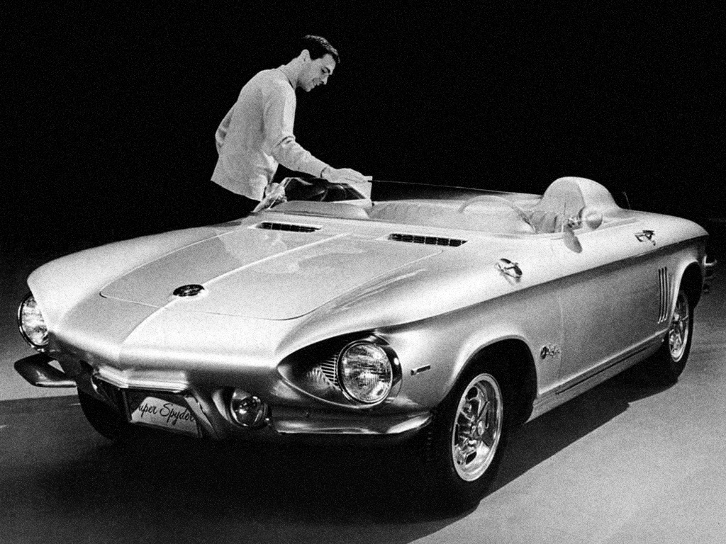 Chevrolet Corvair Super Spyder XP-785 Concept Car (1962)