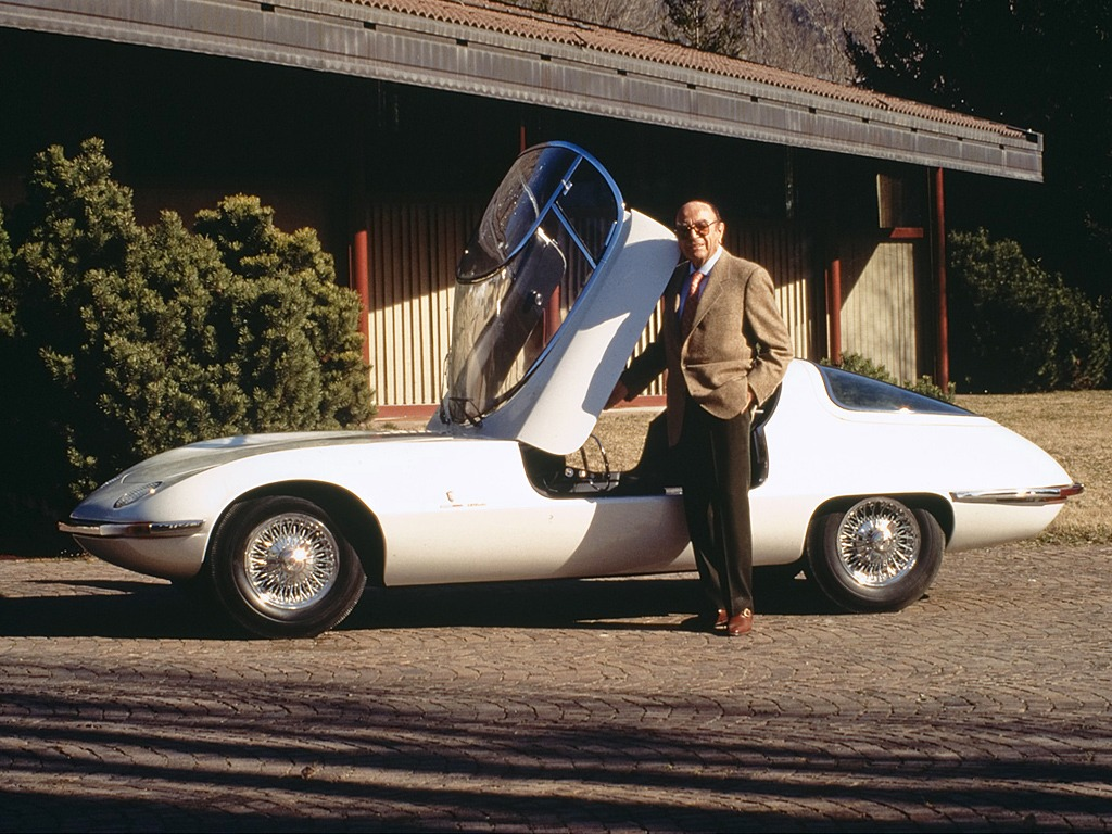Chevrolet Corvair Testudo (1963) - Old Concept Cars
