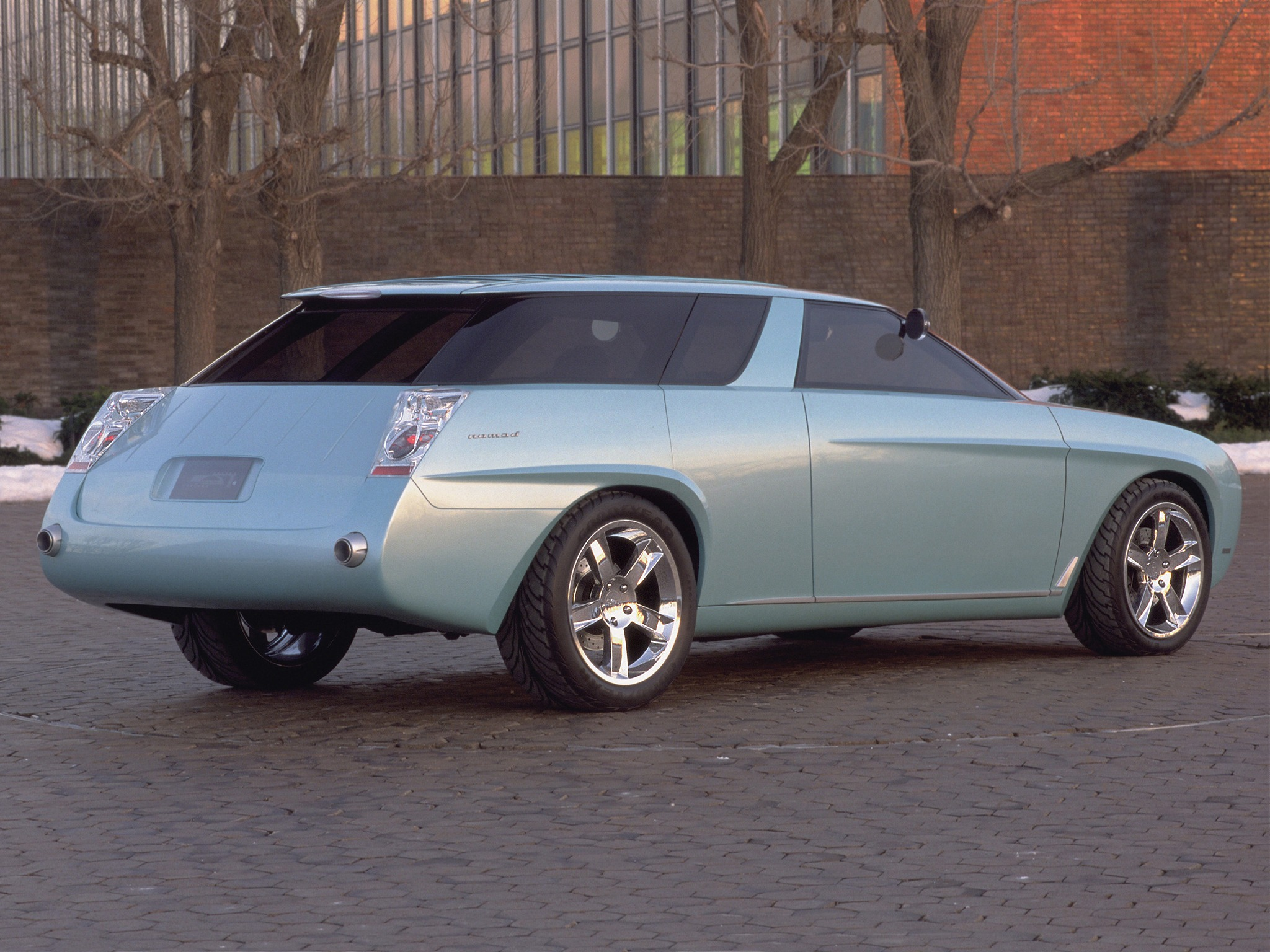 Chevrolet Nomad Concept (1999) – Old Concept Cars