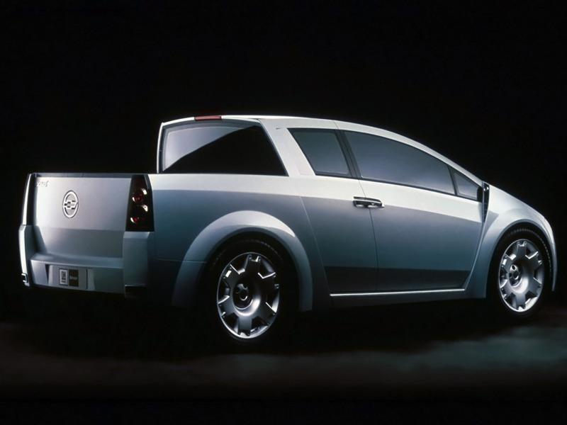 Chevrolet Dealer Near Me >> Chevrolet Sabia Concept (2001) - Old Concept Cars