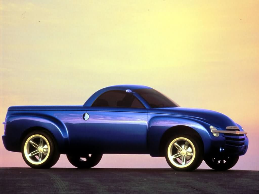 Top 10 Fastest Cars >> Chevrolet SSR Concept (2000) - Old Concept Cars