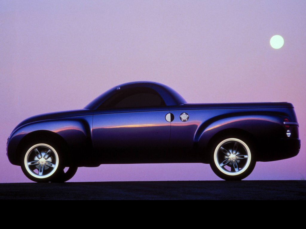 Chevrolet Ssr Concept 2000 Old Concept Cars