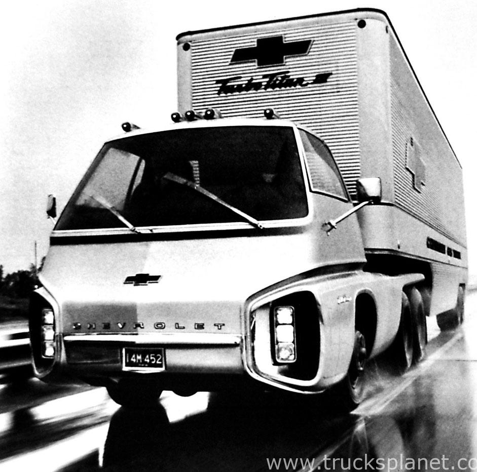 Chevrolet Turbo Titan III Concept Vehicle (1966) - Old ...