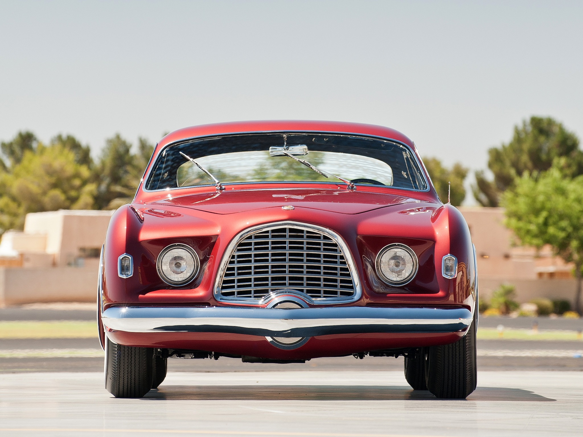 Chrysler Dealer Near Me >> Chrysler D'Elegance Concept Car (1953) - Old Concept Cars