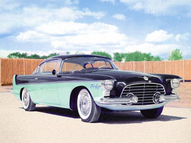 Chrysler Flight Sweep Ii Concept Car 1955 Old Concept Cars