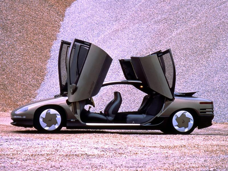 Chrysler Lamborghini Portofino Concept 1987 Old