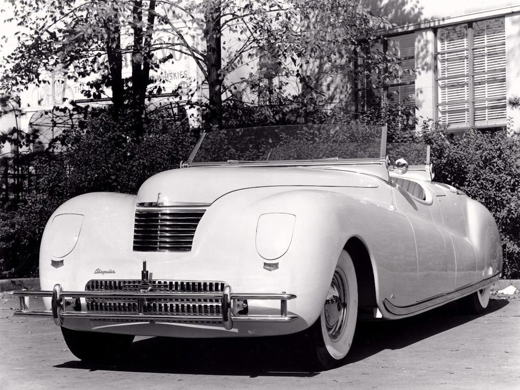 Chrysler Newport Lebaron Concept Car 1941 Old Concept Cars