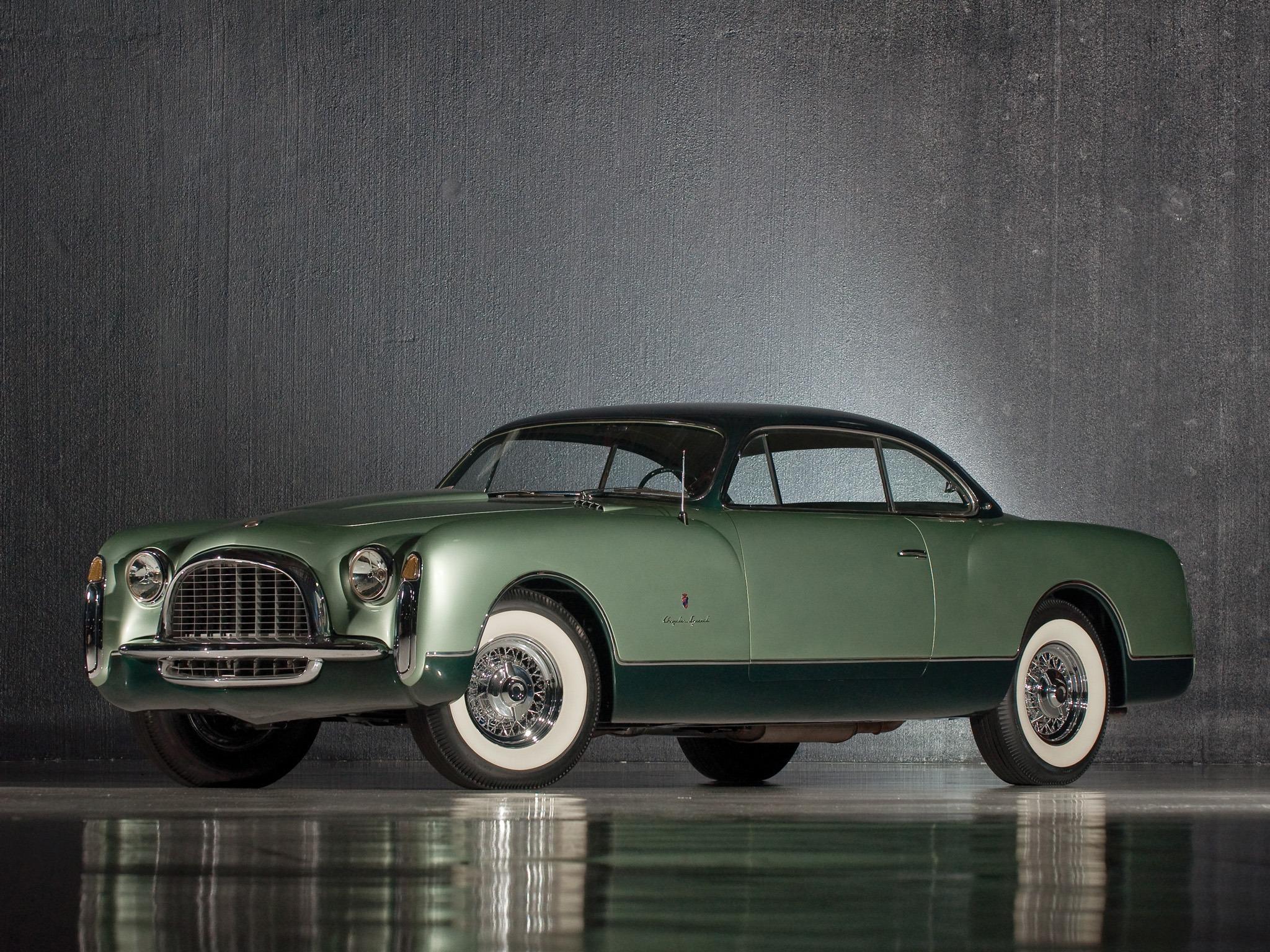 Chrysler Thomas Special Concept 1953 Old Concept Cars