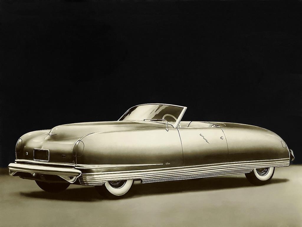 Chrysler Thunderbolt Concept Car 1940 Old Concept Cars