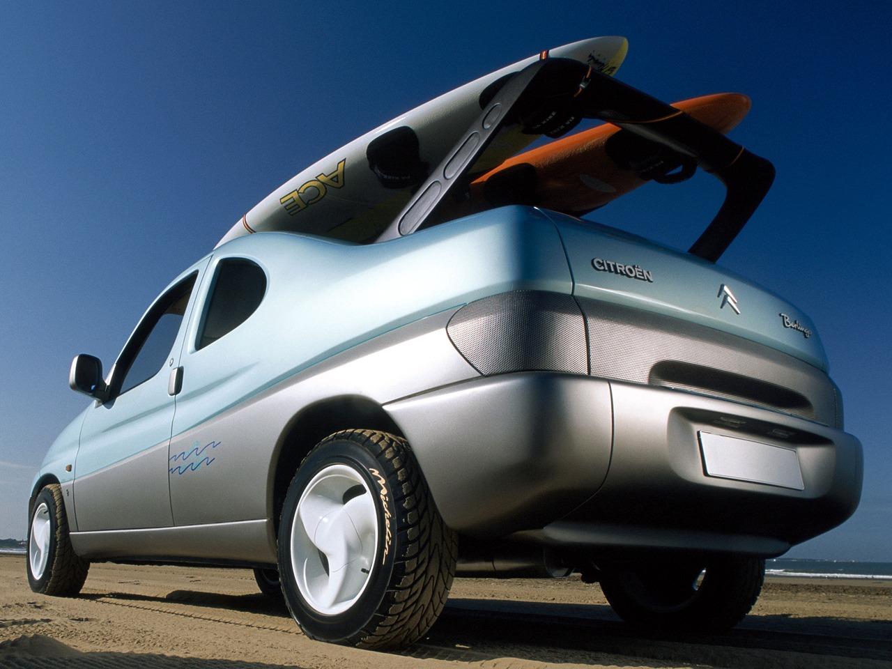 citro n berlingo coup de plage 1996 old concept cars. Black Bedroom Furniture Sets. Home Design Ideas