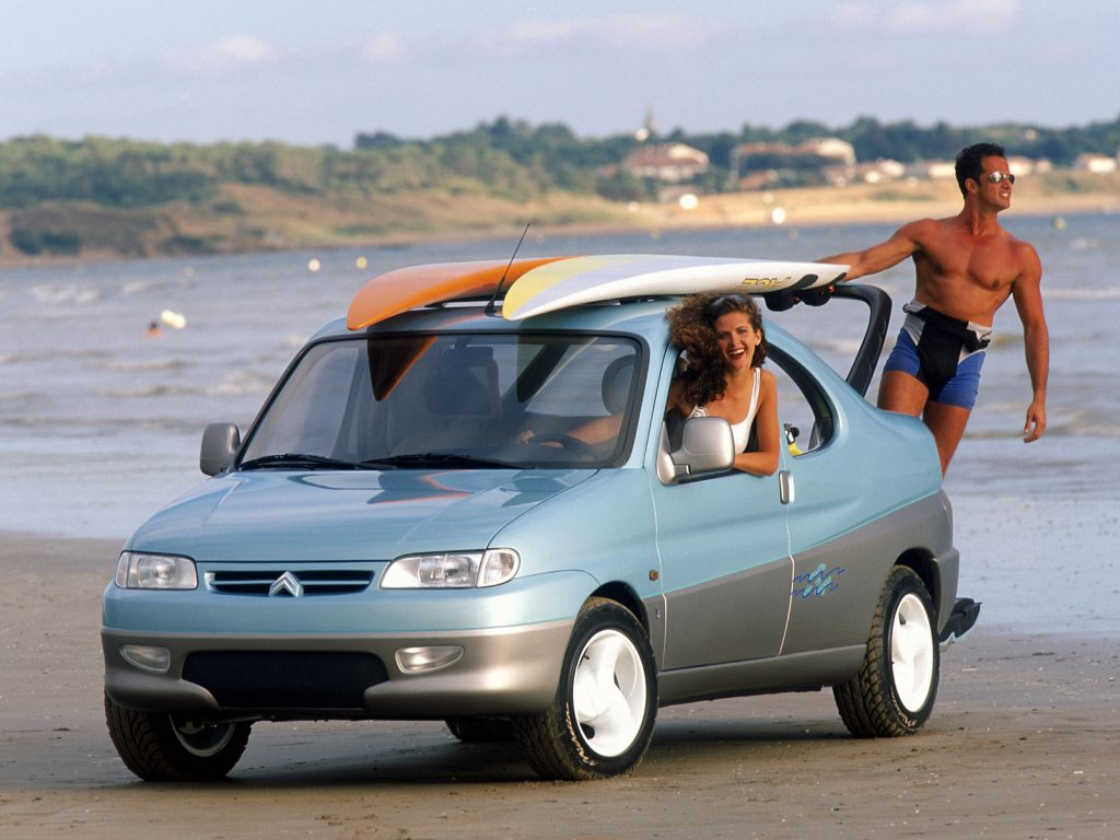 Citroën Berlingo Coupé de Plage (1996)