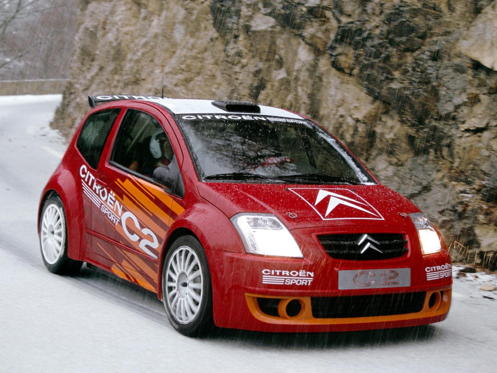 Top 10 Fastest Cars >> Citroën C2 Sport Concept (2003) - Old Concept Cars