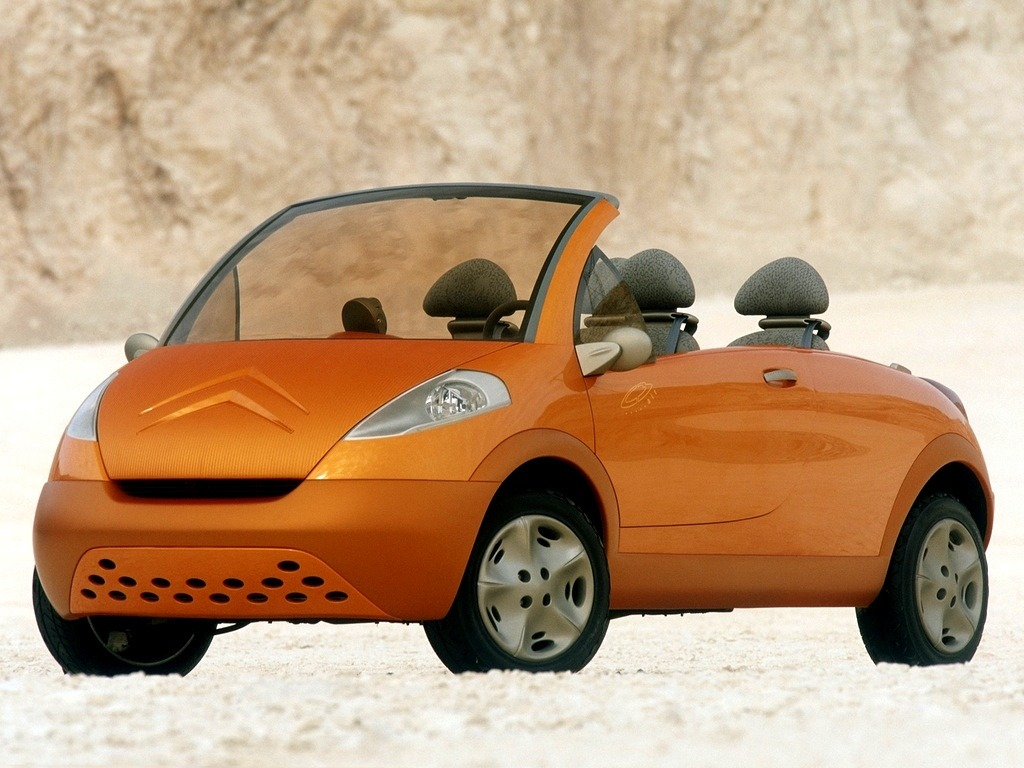 Toyota Pickup Parts >> Citroën C3 Air Concept (1998) - Old Concept Cars