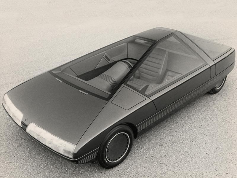 citro n karin concept 1980 old concept cars. Black Bedroom Furniture Sets. Home Design Ideas