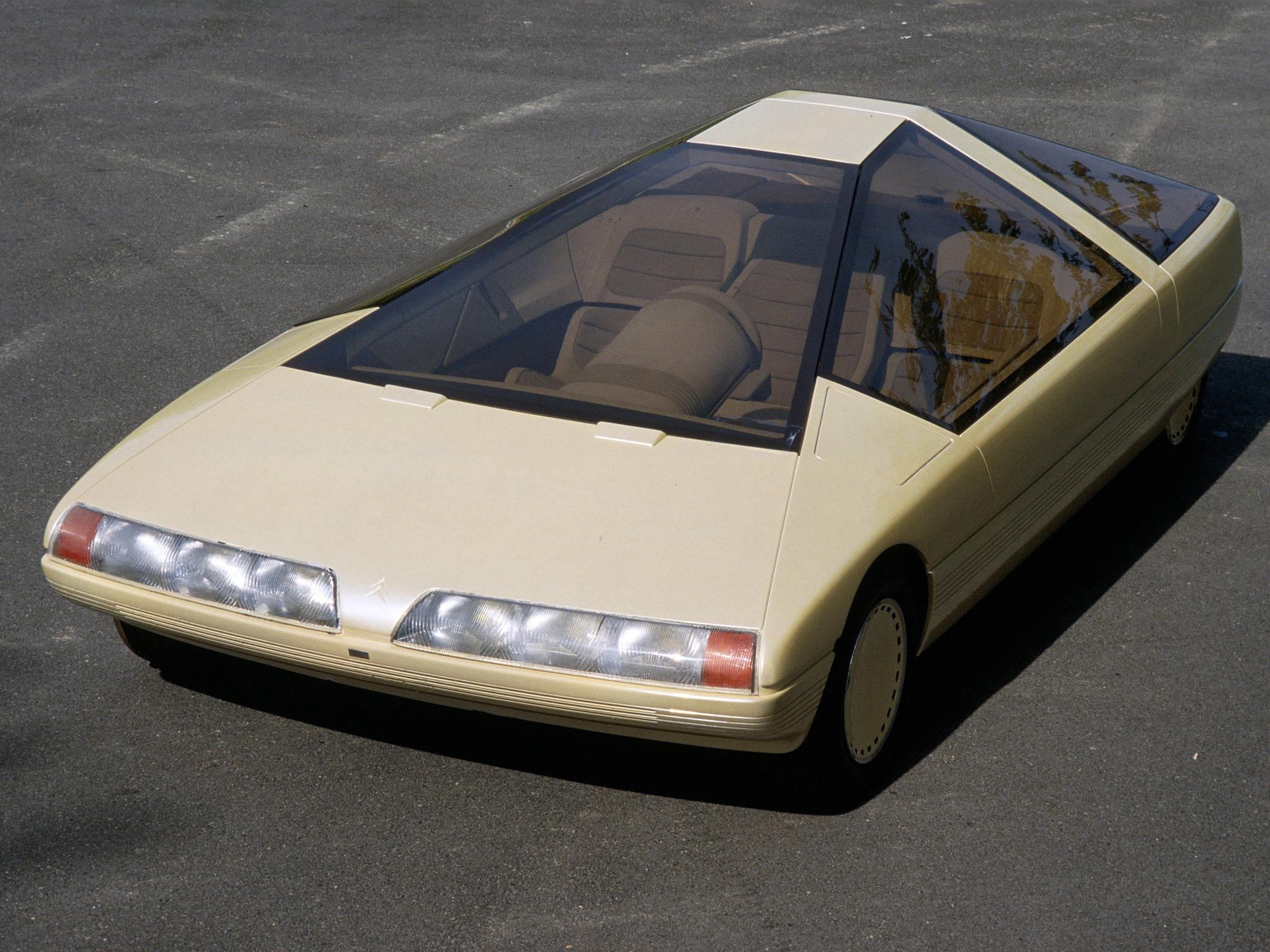 Citroën Karin Concept (1980) – Old Concept Cars