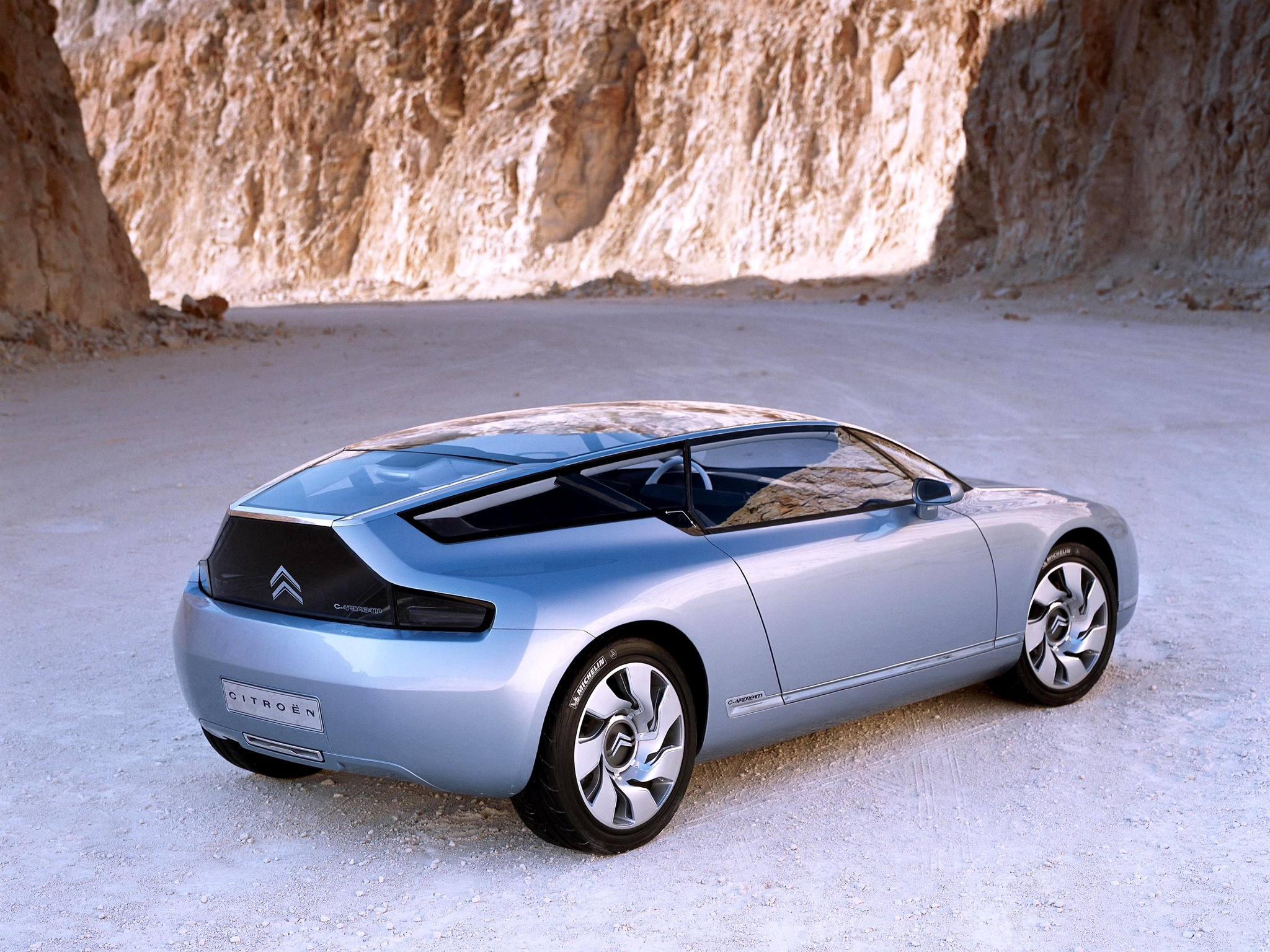Citro 235 N C Airdream Concept 2002 Old Concept Cars