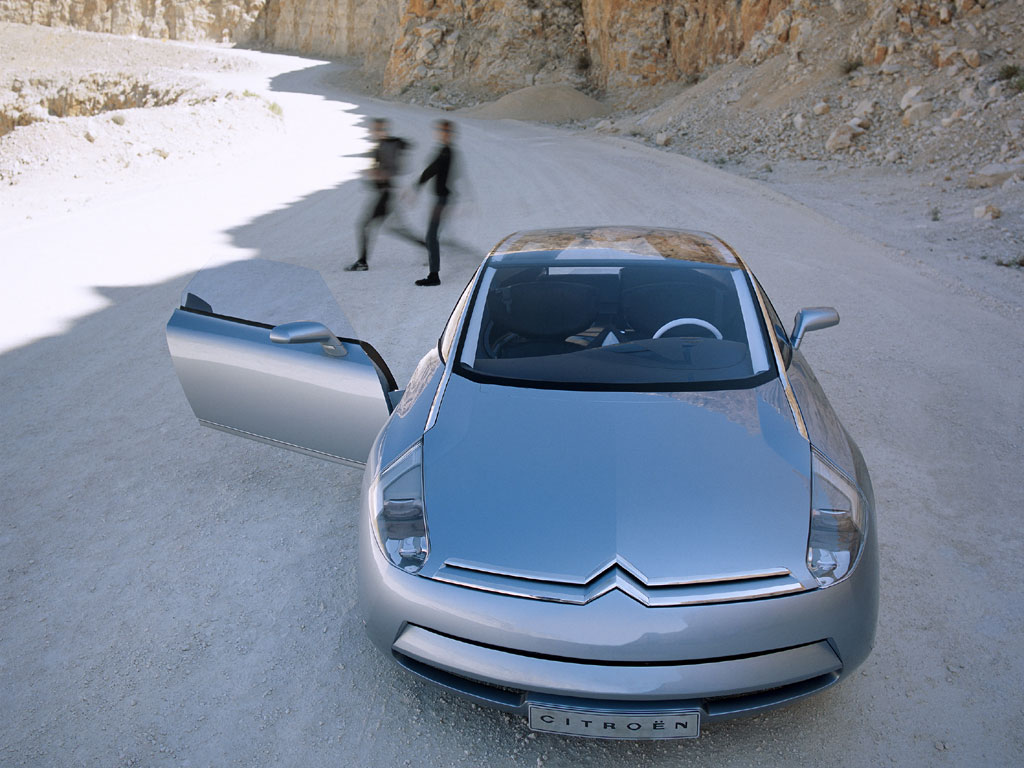Top 10 Fastest Cars >> Citroën C-Airdream Concept (2002) - Old Concept Cars