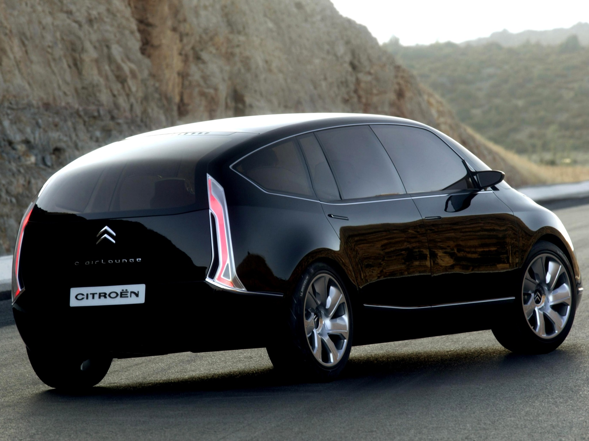 Top Fastest Cars >> Citroën C-Airlounge Concept (2003) - Old Concept Cars