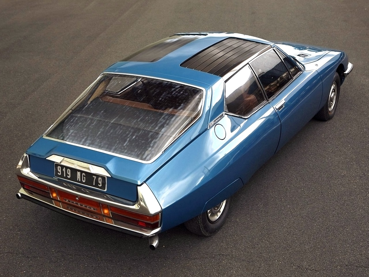 Citro 235 N Sm Espace Concept By Heuliez 1971 Old Concept Cars