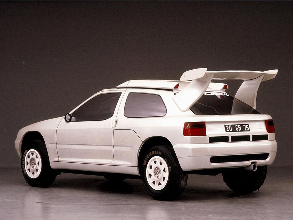 Citro 235 N Zx Rally Raid Prototype 1990 Old Concept Cars