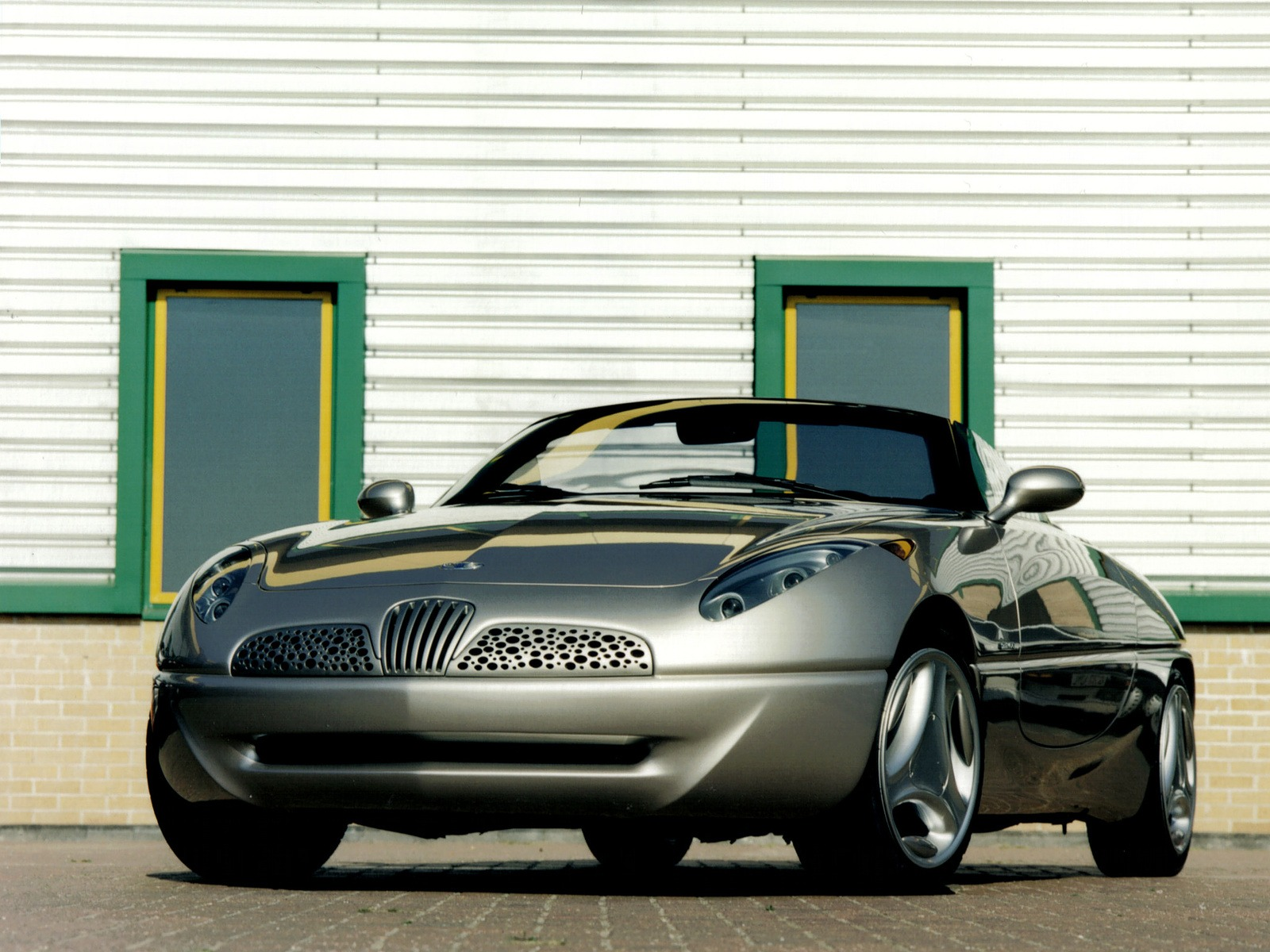 Daewoo Joyster Concept 1997 Old Concept Cars